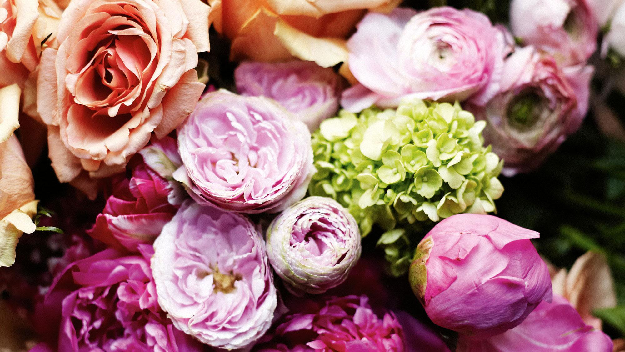 Spring Has Sprung Our Top Five Flowers Book Of Weddings