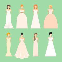 Brides In Wedding Dresses