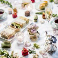Afternoon Tea Wedding Breakfast Food